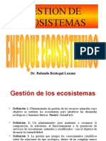 GESTION DE ECOSISTEMAS.