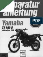 Yamaha XT600 E 90 Repair Manual GER By Mosue