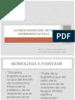 clase 3. Alteraciones del Nivel Morfosintáctico.pdf