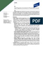 Baird Regulatory update 12.10