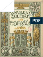 Anuario Militar de España. 1935