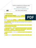 2.5. Analisis horizontal