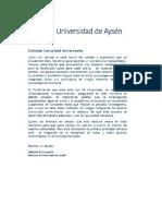 Carta Rectora a Funcionarios UAysén - 24 Julio 2020