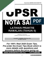 SOALAN-FOKUS-UPSR-SAINS-2020-TAHUN-5