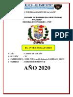 INTERROGATORIO POLICIAL