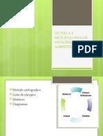 TECNICA Y METODOLOGIA DE ANALISIS AMBIENTAL MATRICES