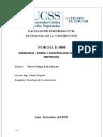 NORMA E080 - LUIS ROSAS UCHUPE