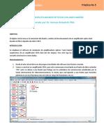 PRACTICA 5. Simulacion de EDFAs con Gain Master