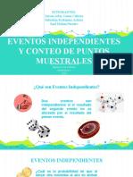 Eventos independientes y conteo de puntos muestrales