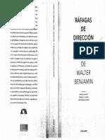 Varios - Ráfagas de dirección múltiples. Abordajes de Walter Benjamin.pdf