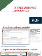 CAJA DE HERRAMIENTAS GEOGRAFICA