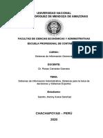 SISTEMA DE INFORMACION ADMINISTRATIVA, SISTEMA PARA TOMA DE DECISIONES Y SISTEMAS EXPERTOS