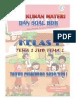 SOAL BDR KELAS 1 TEMA 1 ST 1