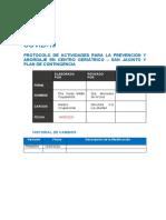 PROTOCOLO DE ACTIVIDADAS CASA DE REPOSO ANTE COVID-19