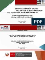 SISMOLOGÍA Y DINÁMICA DE SUELOS - SESIÓN 03 Y 04 (PARTE 01)