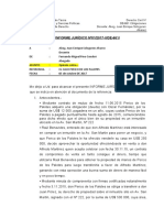 Modelo de Informe Jurídico