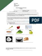 6° básico - Evaluacion diagnostica pt.2