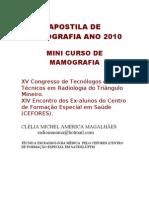 Apostila de Mamografia Mini Curso Uberaba- Clélia Magalhães
