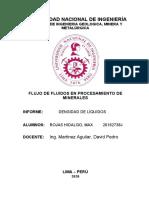 INFORME 1 FLUJO DE FLUIDOS ROJAS HIDALGO