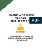 Tata Pollo REGLAMENTO INTERNO ACTUALIZADO 2020