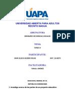TAREA IV----SEMINARIO DE CIENCIAS SOCIALES