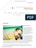 Filipino Folk Music - World Federation of Music Therapy