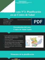 Planificación en Administración - Centro de Salud