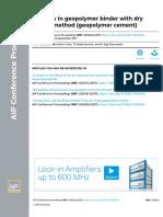 Dry powder geo polymer mix.pdf