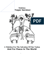 A Moleben for the Salvation of Our Nation