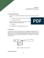 Lecture Notes -Measurement of Fluid Flow.doc