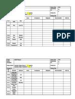 HAZOP worksheet
