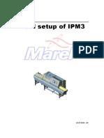 Initial setup of IPM3