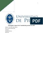 Principales rasgos de la Constitución peruana de 1993