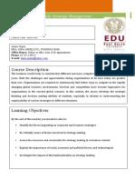 SM Course outline