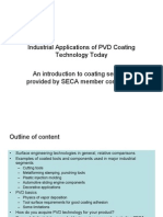 Industrial Application of CVD and PVD