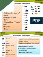 ES-A1 Medios de transporte