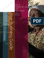 Inclusive Business Guide. How to Develop Business and Fight Poverty