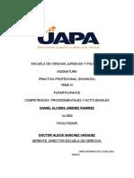 TEMA IV OK ESCUELA DE CIENCIAS JURIDICAS Y POLITICAS