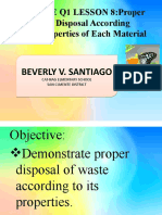 SCIENCE Q1 LESSON 8 WASTE DISPOSAL. beverly v. santiago