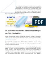 How to Buy Tramadol Online