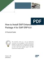 SAP EHP installation