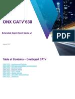 OneExpert 630 Extended QuickStart Guide v1a