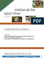 Caracteristicas_de_los_seres_vivos CLASE 1 DE BIOLOGÍA PRIMERO