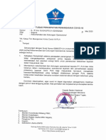 S.Gugus Tugas Covid - Dukungan Operasional PLN
