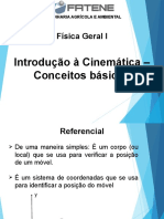 Física Geral e Experimental 1 - Aula 3 - ENG.PROD