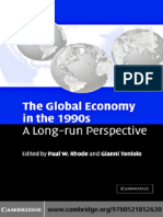 Paul W. Rhode, Gianni Toniolo-The Global Economy in the 1990s_ A Long-Run Perspective-Cambridge University Press (2006).pdf
