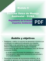 Mod 09 Sistema Unico Manejo Ambiental.ppt
