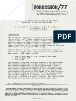 (1977) Supplemental Studies of the Galvalum III Anode, Exposure Time and Low Temperature