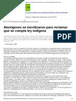 Aborígenes se movilizaron para reclamar que se cumpla ley indígena _ Norte Chaco.pdf