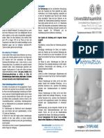 Faltblatt Dysplasie